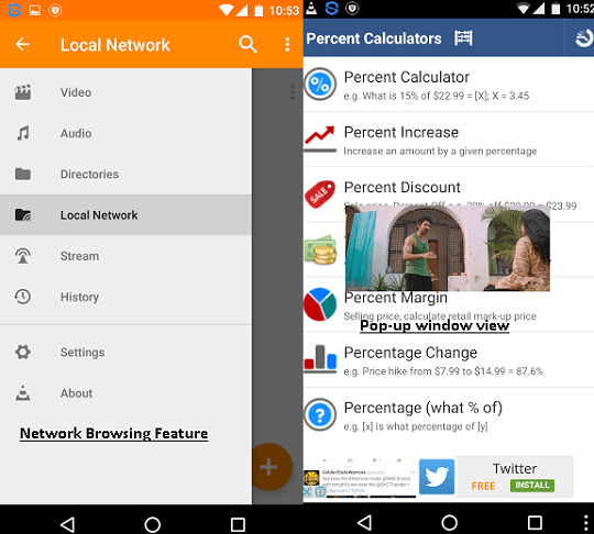 vlc for android new features
