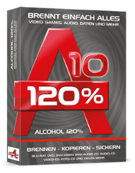 Alcohol 120% Free 1 year License
