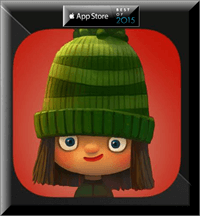 Green Riding Hood iOS App for Kids Free instead of $2.99