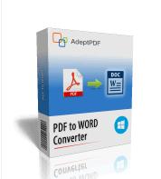 Adept PDF to Word Converter Free License