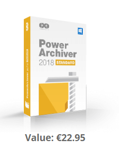 PowerArchiver 2018 Standard box