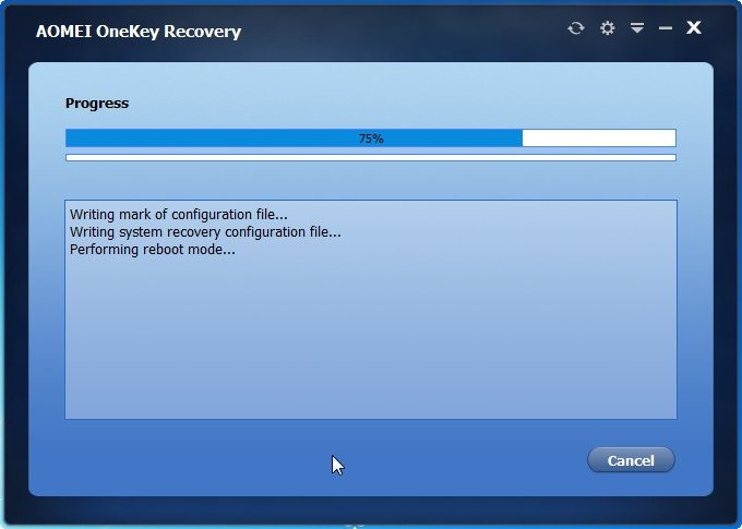 AOMEI OneKey Recovery  review