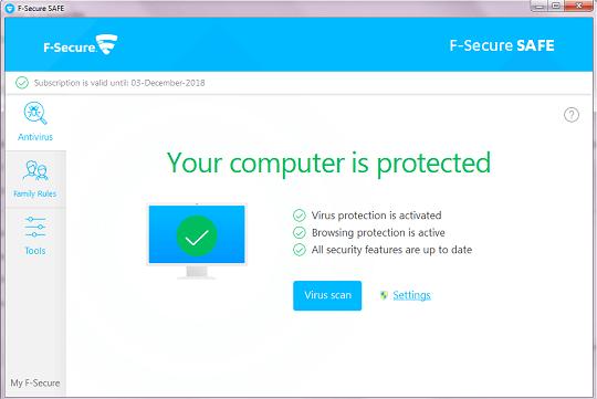 Bảo mật Internet AN TOÀN F-Secure