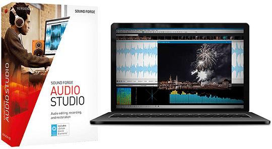 SOUND FORGE Audio Studio 12 Free 5 Months License
