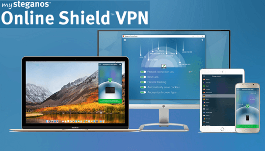 mySteganos Online Shield VPN Free for a Year for Windows, Mac, Android and iOS