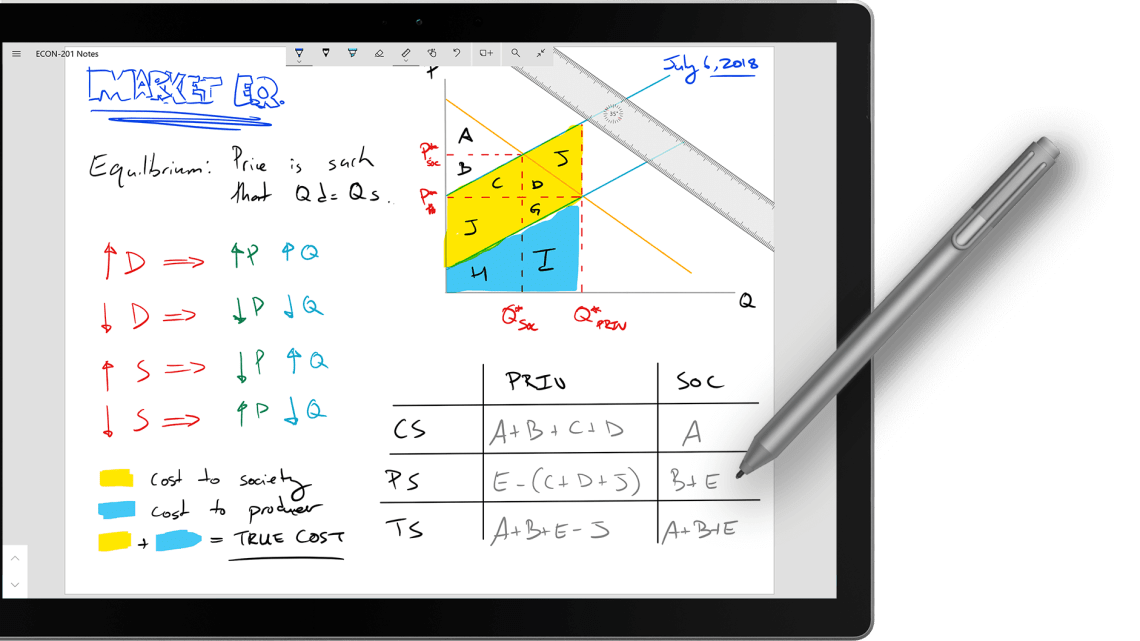 Penbook - freehand writing App for Windows 10 Now free