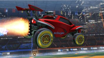 Rocket League WWE Items