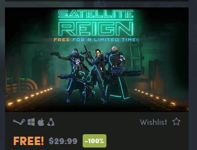 Satellite Reign: Real-time Sci-fi Strategy Game Totally Free