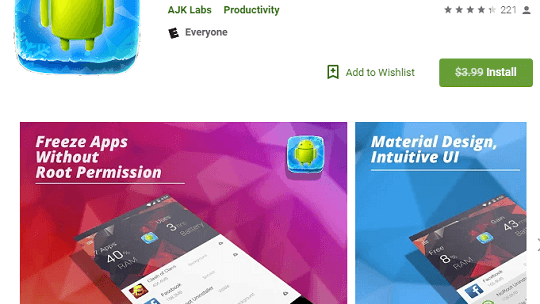 App Freezer Force Stop Background Apps [Android]