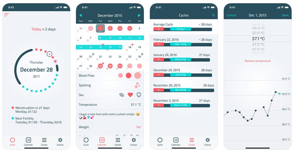 iWoman Period & Fertility Tracker Now Free [iOS]