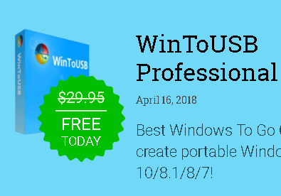 WinToUSB Professional Free Lifetime license [24 Hrs Only]