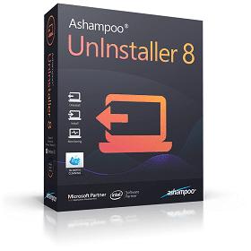 Ashampoo UnInstaller 8 interface