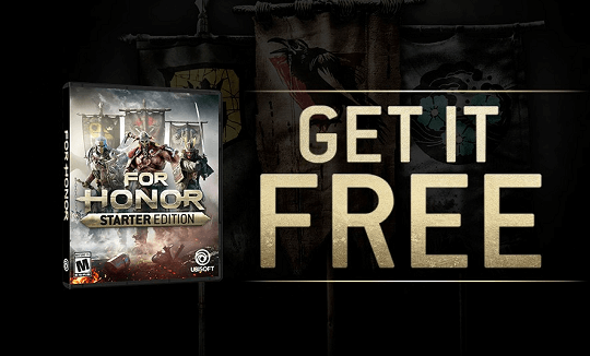 For Honor : Starter Edition Free for PC Gamers [Medieval Action Fighting Game]