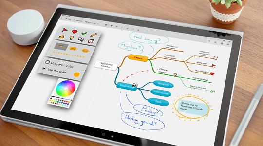Mind Maps Pro windows 10 app