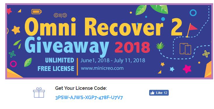 Omni Recover 2 license code