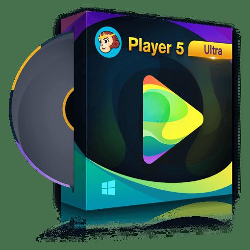 DVDFab Player 5 Ultra Free 1 Year License – 4K UHD Media Player