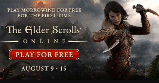 Play The Elder Scrolls Online Free for a Limited Time [PC/MAC/PS4/XboxOne]