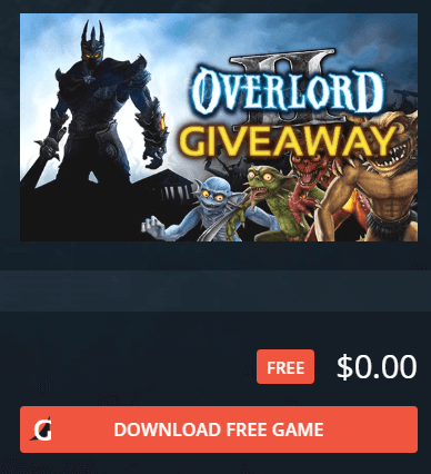 Overlord 2 Action Rpg Free For Limited Time Worth 10