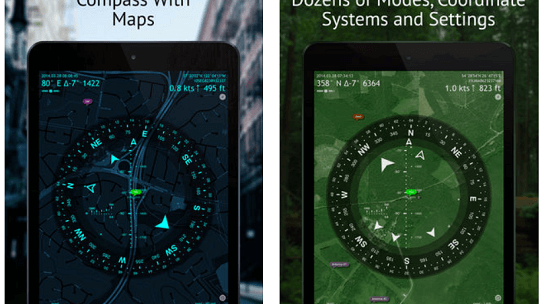 Commander Compass (GPS-Toolkit) App for iOS Now Free
