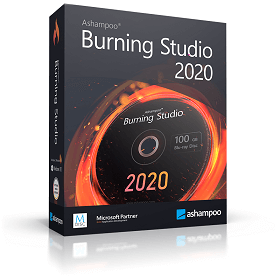 Ashampoo Burning Studio 2020 -boxshot