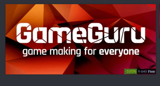 Get GameGuru – Game Design Software Free on Steam
