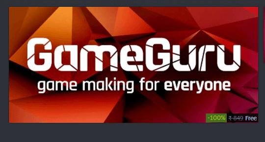 Get GameGuru – Game Design Software Free on Steam