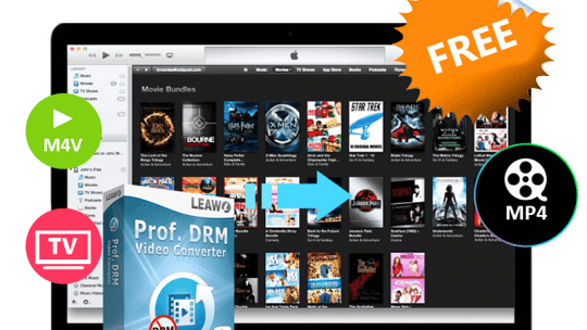 Leawo Prof. DRM Video Converter Giveaway [Windows & Mac]