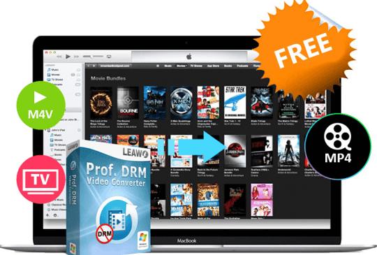 Leawo Prof. DRM Video Converter Giveaway [Windows & Mac]