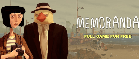 Memoranda – 2D Point and Click Adventure Game Free [Worth $14.99]