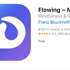 Flowing ios app