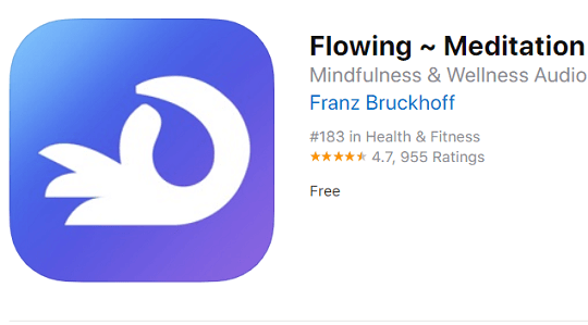 Flowing ~ Meditation in Nature iOS App Now Available for Free