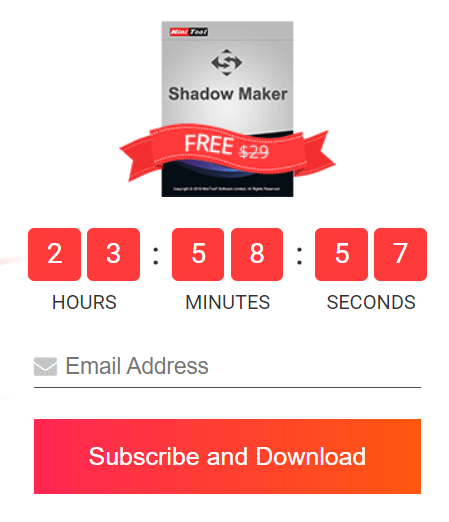 MiniTool ShadowMaker Pro Free License [24 Hrs Giveaway]