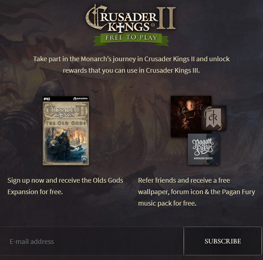 Crusader Kings 2: The Old Gods DLC Free Steam Code