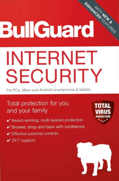 BullGuard Internet Security 2021 Box Shot