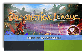 Broomstick League Free Beta Weekend