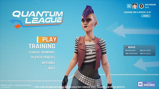 Quantum League game play