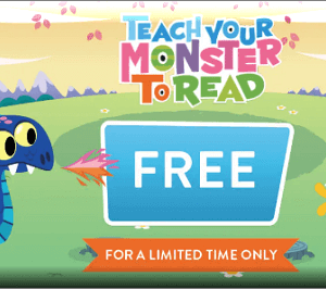 Teach Your Monster to Read free for a limited time