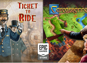 Ticket to Ride and Carcassonne