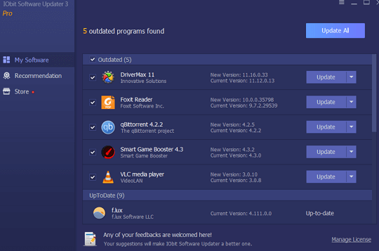 IObit Software Updater 3 PRO
