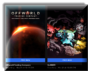 Offworld Trading Company and GoNNER