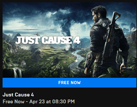 Just Cause 4 Game now free