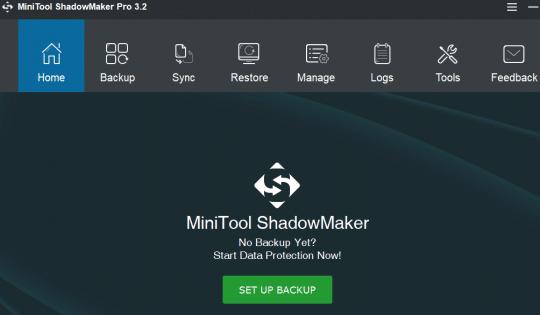 MiniTool ShadowMaker Pro 3.2