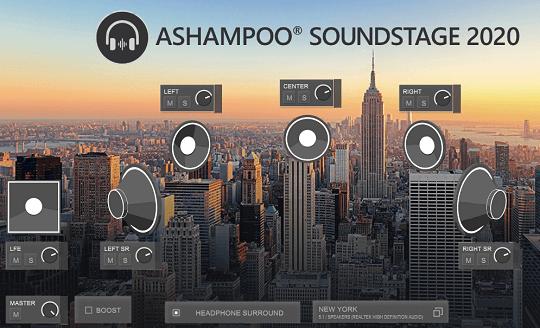 ashampoo soundstage 2020