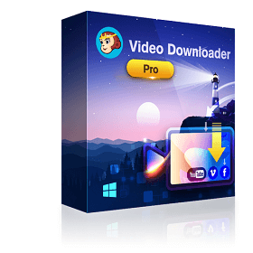 DVDFab Video Downloader Pro Boxshot