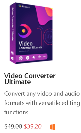 Aiseesoft Video Converter Ultimate Box Shot
