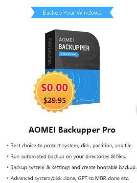 AOMEI Backupper Pro 6 Box shot
