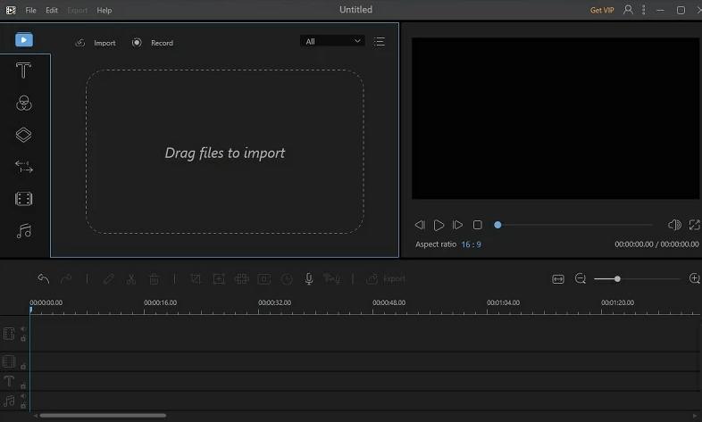AceThinker Video Editor Main Interface