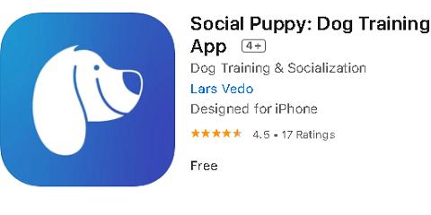 Social Puppy - Mobile app for Dog training