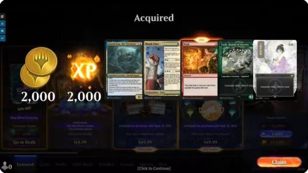 Magic: The Gathering Arena New Decks Unlocked