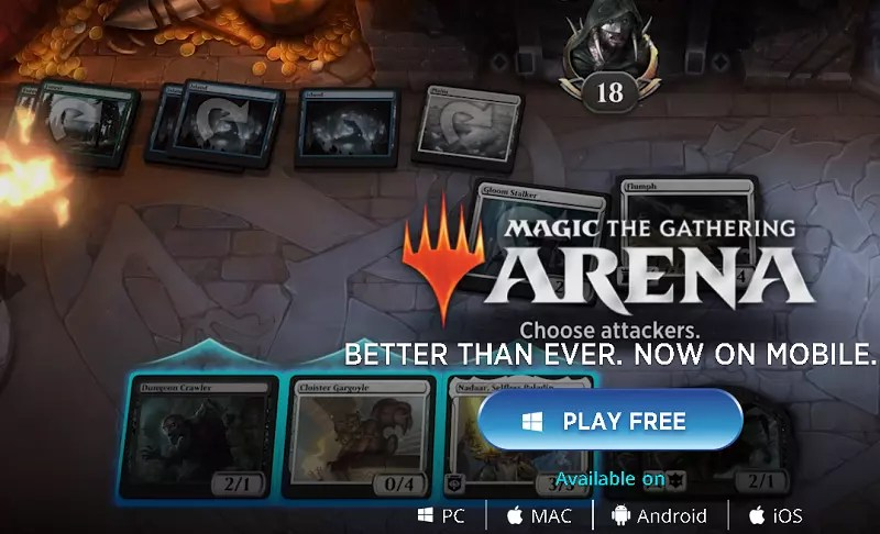 Magic: The Gathering Arena Play for Free